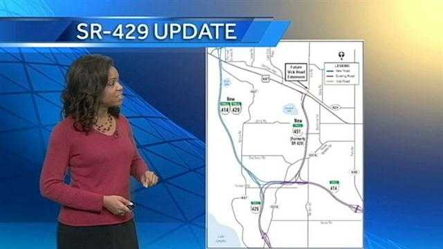 state road 429 extension to open