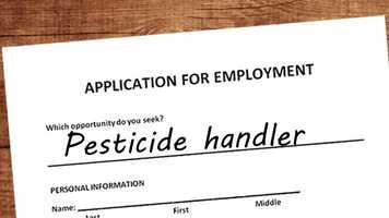 Pesticide handlers: Someone has to keep the City Beautiful, well, beautiful. Pesticide handlers take the tenth spot.