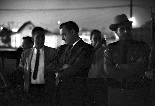 Gov. Claude Kirk during the Tallahassee riots.