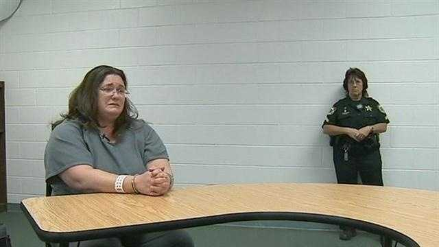 A mother of two sits in jail Monday unable to post bail after being put behind bars for the 1991 theft of a pack of cigarettes.