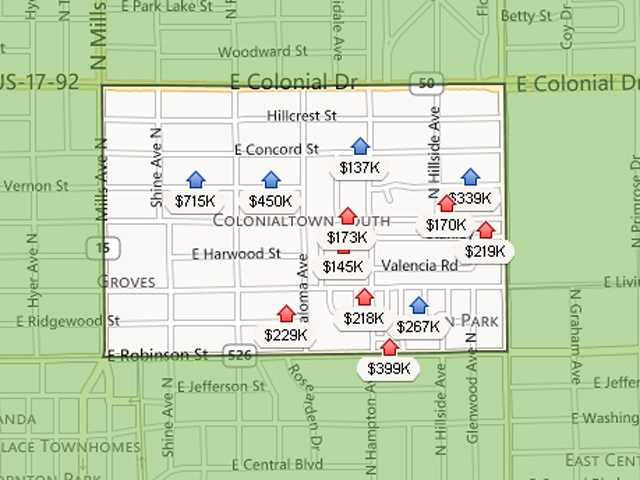 20. Colonialtown SouthEstimated home value increase: 3.6%Estimated home value in Dec. 2013: $207,161