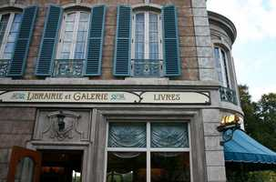Did you know that you could find that book at the France pavilion within Epcot?  It's at the Librairie et Galerie.  Can you also spot the hidden Mickey?