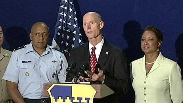 Gov. Rick Scott will announce a change to teacher salaries when he visits the Orlando area Wednesday.