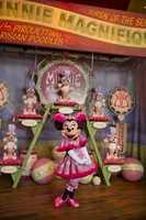 Minnie Magnifique is part of the new Fantasyland at the Magic Kingdom.