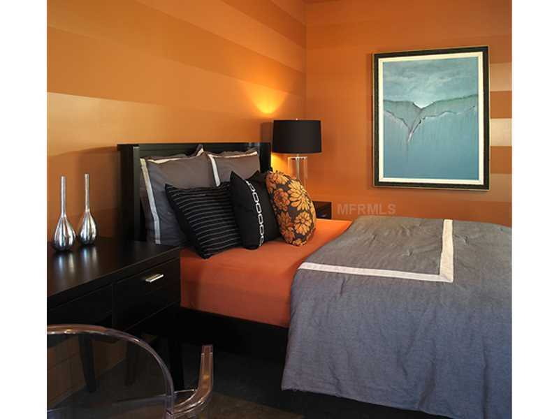 All of the guest suites are on the third floor and offer their own personal, modern design.