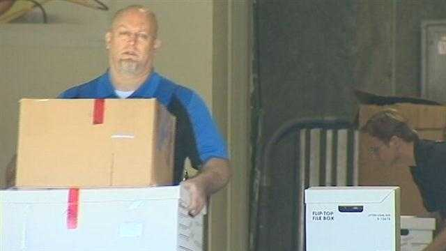 Federal agents were seen carrying boxes out of a Port Orange business Thursday morning after a three year long investigation into mortgage fraud.