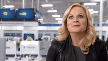 """Best Buy's """"Asking Amy"""": Amy Poehler stars in an ad showcasing Best Buy's Blue Shirt experts. Click here to watch"""