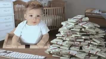 """E*Trade's """"Baby Game Day"""": The E*Trade baby has tips for you and your 401(K). Click here to watch"""