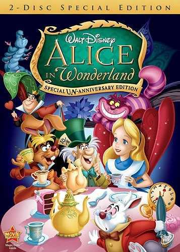 28. Alice in Wonderland (1951)
