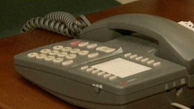 New details about a phone scam that triggered what some thought was a bank robbery were released Friday.