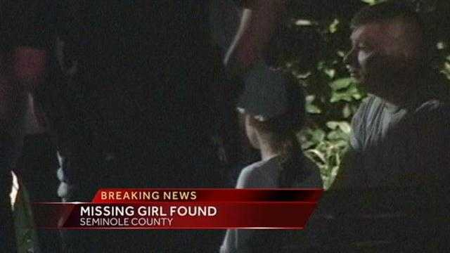 Missing girl found safe in Seminole County after she went missing for hours.