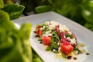 Watermelon salad surprise