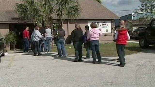 Teachers line up for gun training