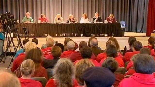 A proposal for a gay-straight alliance club at a Lake County school has led to a controversial school board meeting Monday.