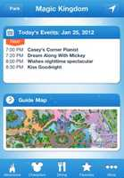 Disney Mobile Magic (iOS, Android) – an official Disney app that lets you use GPS to get around the parks, find your favorite characters and even make dinner reservations.iTunes: 487 ratings (3.5 stars)Google Play: 2,811 ratings (3.5 stars)