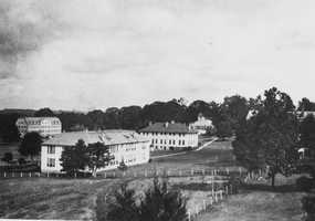 Florida Agricultural and Mechanical University was founded as the State Normal College for Colored Students, and on October 3, 1887, it began classes with fifteen students and two instructors.  The picture shows the campus in the 1920s.