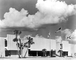 The University of South Florida was founded in 1956 in the heart of Tampa Bay.  The photo is of how the campus looked in 1960.