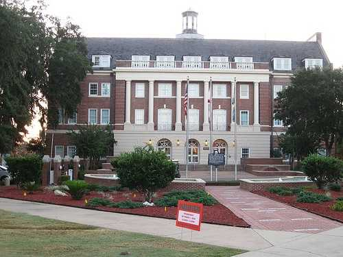 FAMU's main campus comprises 156 buildings spread over 422 acres atop the highest of Tallahassee's seven hills.