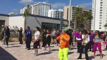 """The event brought supporters out for """"Operation Changing Lives."""""""