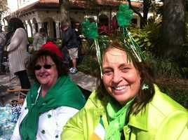 St. Patrick's Day isn't for a couple weeks but the luck of the Irish was in central Florida on Sunday.