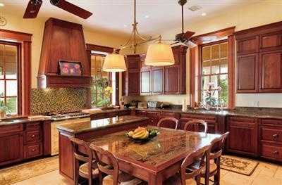 The home features a magnificent kitchen with modern appliances and a breakfast nook.