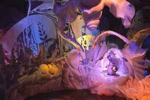 Dreamfinder took Figment and guests along on an exploration of the Dreamport, the place where the duo used their imaginations to try out new ideas in the arts, literature, technology and more.