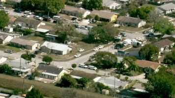 A teen who officials said was wanted in a carjacking has barricaded himself inside an Orlando home.