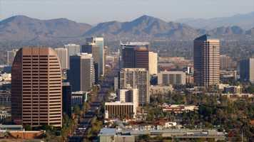 5. Phoenix scored a TVI of 92 AND remains the fifth best travel location, thanks to its entertainment scene, according to Hotwire.