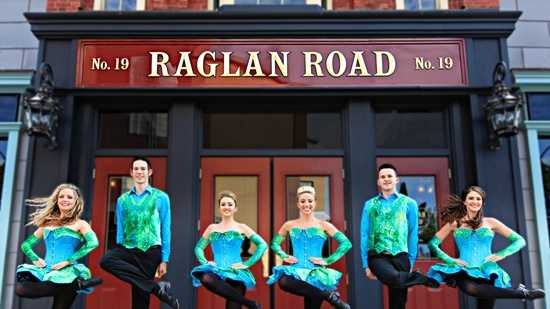Raglan Road Irish Pub & Restaurant and Pleasure Island kicks off it's annual wearin' of the green party on Friday.