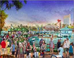 The overhaul also comes with name changes: Downtown Disney Westside would become simply The West Side, Downtown Disney Marketplace would The Village Marketplace and Pleasure Island would be transformed into The Town Center.