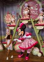 "Jay thinks Minnie was saying, ""You don't have a pair of pink heels? We can fix that!"""