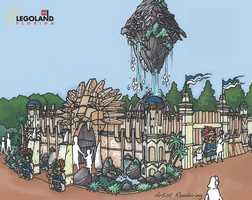 Legoland Florida announced a major park expansion on Tuesday.