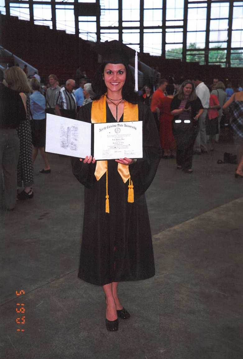 Aixa graduated Summa Cum Laude from North Carolina State University with a Bachelor of Arts in Communication.