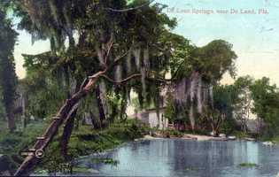 DeLeon Springs in 1908.