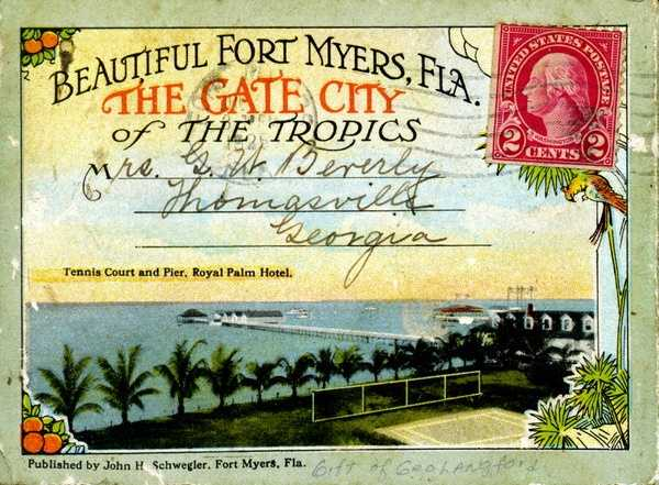 Before the advent of social media and email, postcards were the means of communication with friends and family while on vacation.  Take a look at Florida's history in postcards.