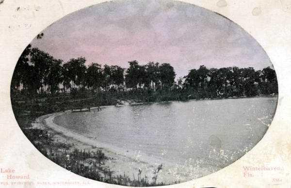 Lake Howard in Winter Haven in 1912.