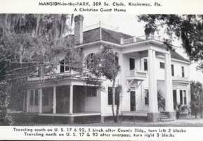 Mansion in the Park in Kissimmee.