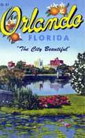 """Orlando is """"the City Beautiful"""" in this undated postcard."""