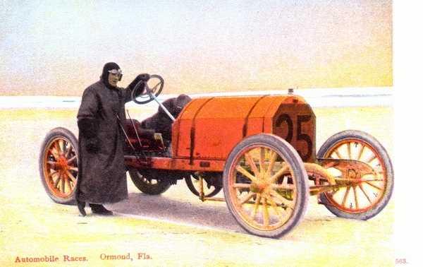 Touting Ormond Beach's auto races.