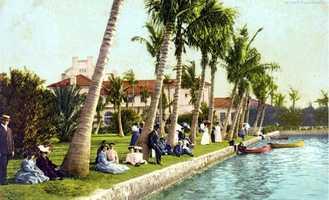 Palm Beach in 1906.