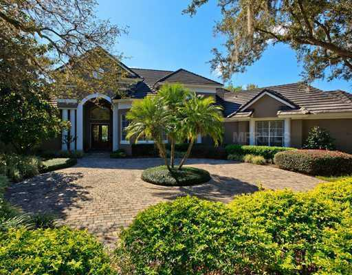This home with a view of holes 5 and 6 on Classic Court is priced at $1,175,000.