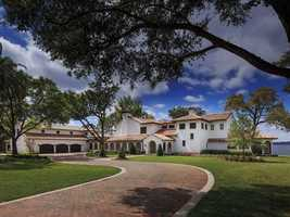 Located in the Orlando gated community of Bentley Park, this rare find is listed for $4.25 million on Realtor.com