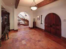 Here is another view of the foyer.