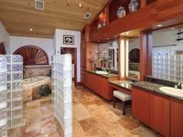 A look at the master wing bathroom.