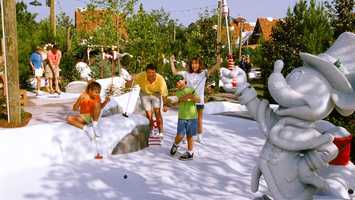 Miniature Golf: If tennis isn't your thing, grab a club and putt putt. Guest can switch up the scenery and choose from Fantasia Gardens or Winter Summerland.Price: Adult: $14 plus tax, $12 for children 3-9Location: Fantasia Gardens- Walt Disney World Swan HotelWinter Summerland-Disney's Blizzard Beach Water Park