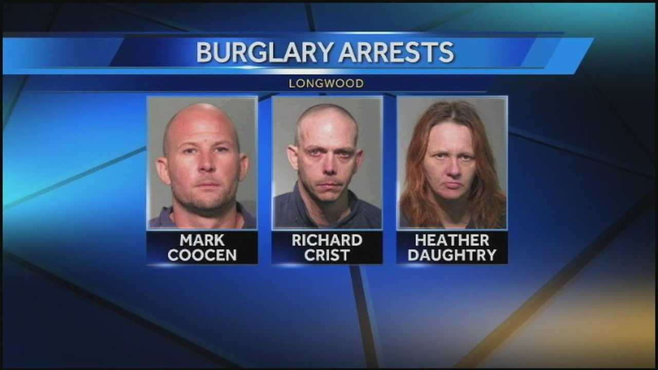 Longwood couple catches burglars in the act, police say
