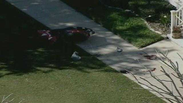 An Orlando Police officer was shot at by a suspect in the Baldwin Park neighborhood of Orlando on Wednesday afternoon, police said.