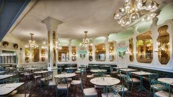Where: The Plaza Restaurant in Magic KingdomWhat: Who wouldn't like an Original Banana Split?