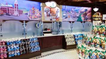 Where: Ghirardelli Soda Fountain & Chocolate Shop at Downtown DisneyWhat: Order the Haight AshBerry Very Berry Sundae.