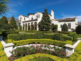 This $2.4 million mansion in Orlando features classical exterior with cutting edge technology.